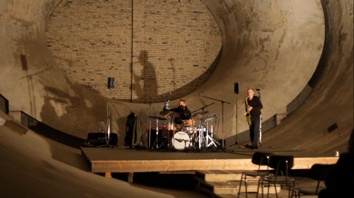 Windkanal drums, sax