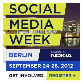 Social Media Week Berlin 2012 Logo