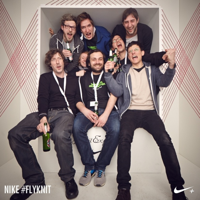 Productionteam Nike Flyknit